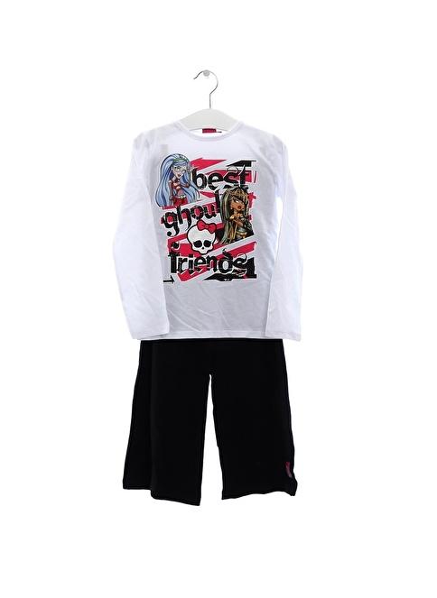 Monster High Pijama Beyaz